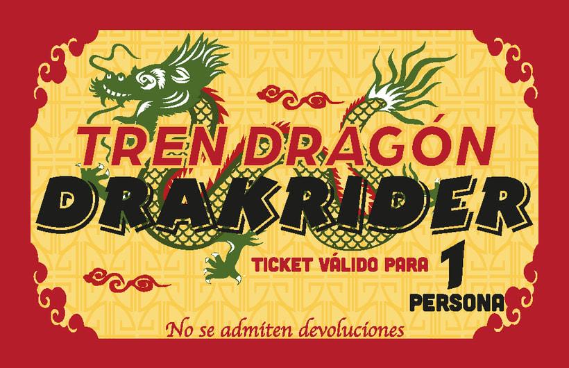 Ticket Tren Dragón DRAKRIDER -1