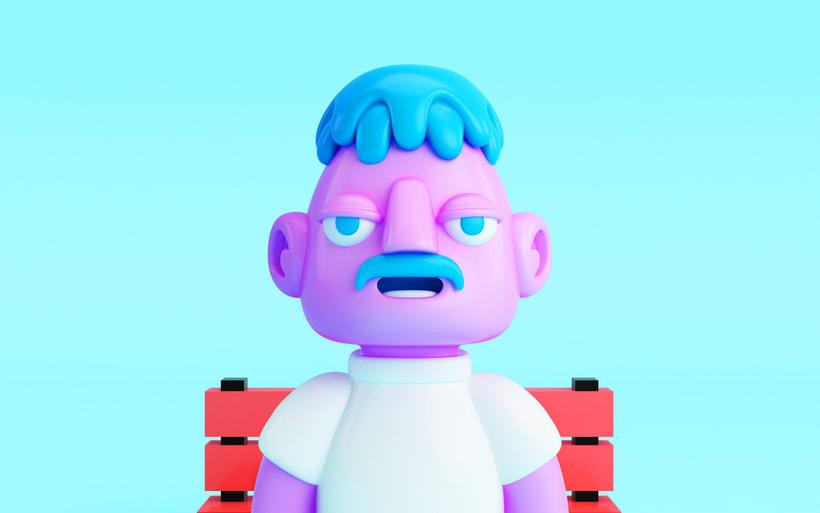 Personajes 3D 15