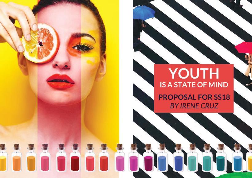 Fashion & Print Design SS18 - Young Woman 0