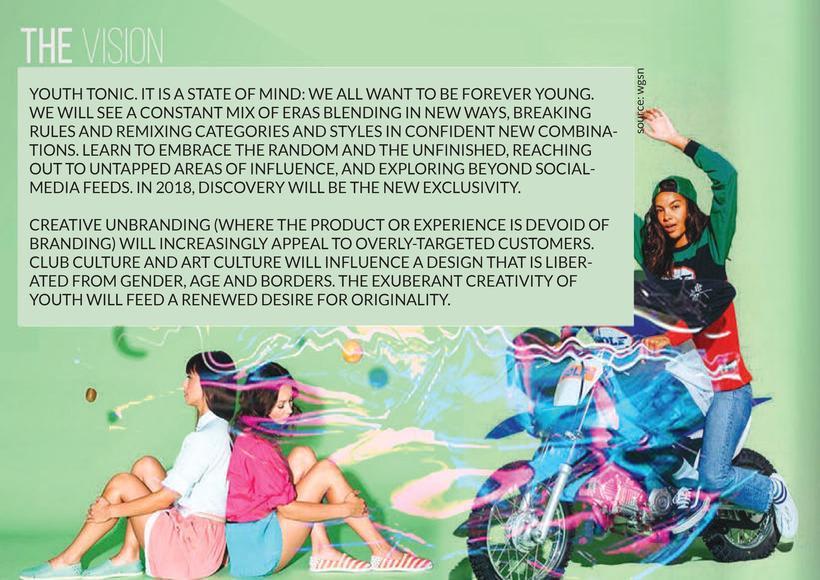 Fashion & Print Design SS18 - Young Woman 1