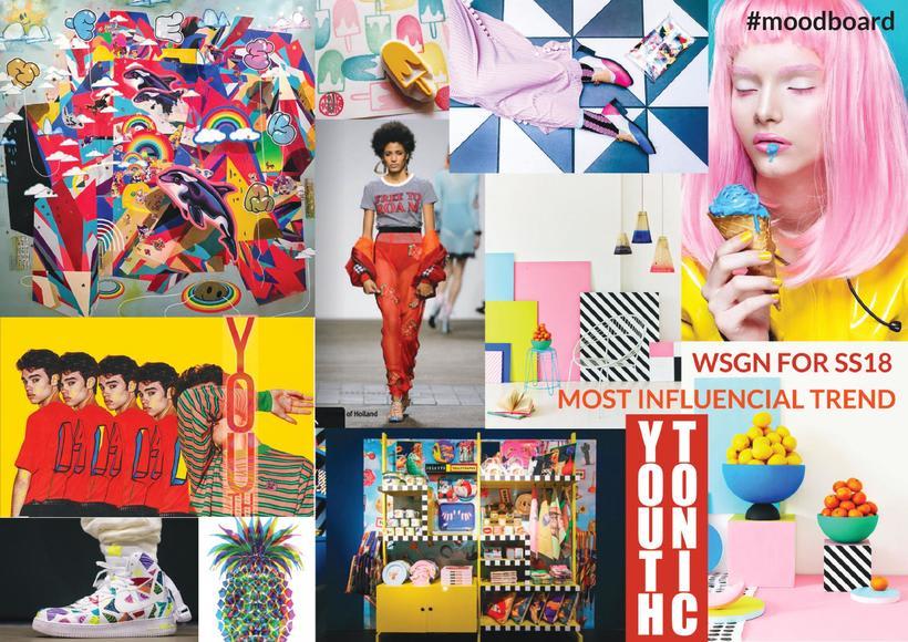Fashion & Print Design SS18 - Young Woman 3