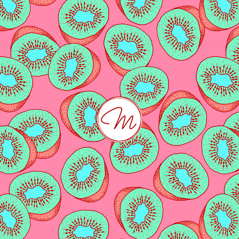 Sweet Kiwi Pattern Collection 7