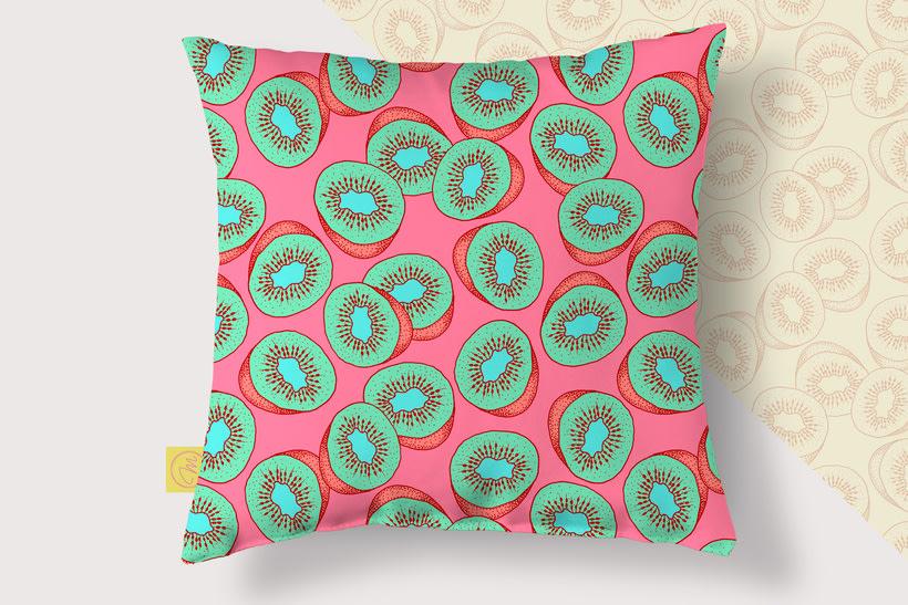 Sweet Kiwi Pattern Collection 8