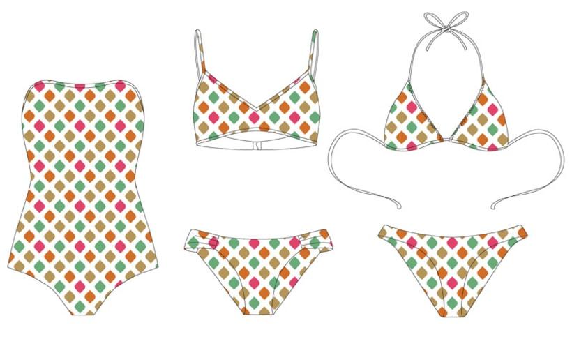 Swimwear & Prints Design SS17 - Ibiza 5