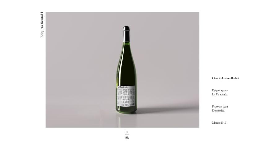 Diseño de una etiqueta de vino: La Cuadrada. 9