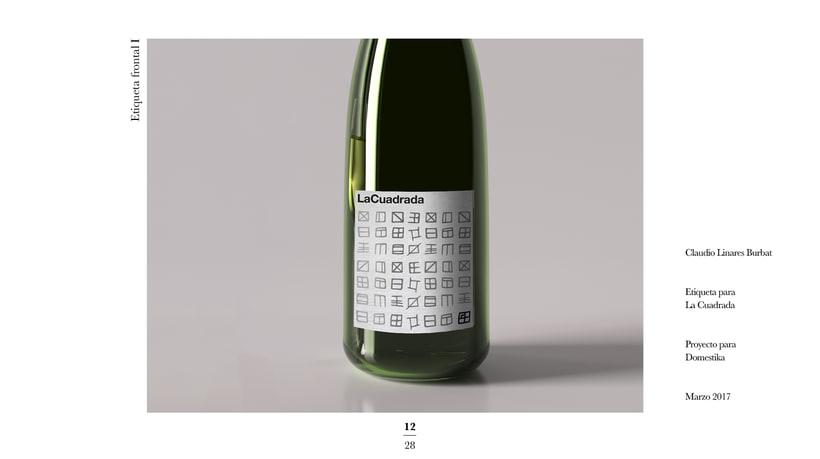 Diseño de una etiqueta de vino: La Cuadrada. 10