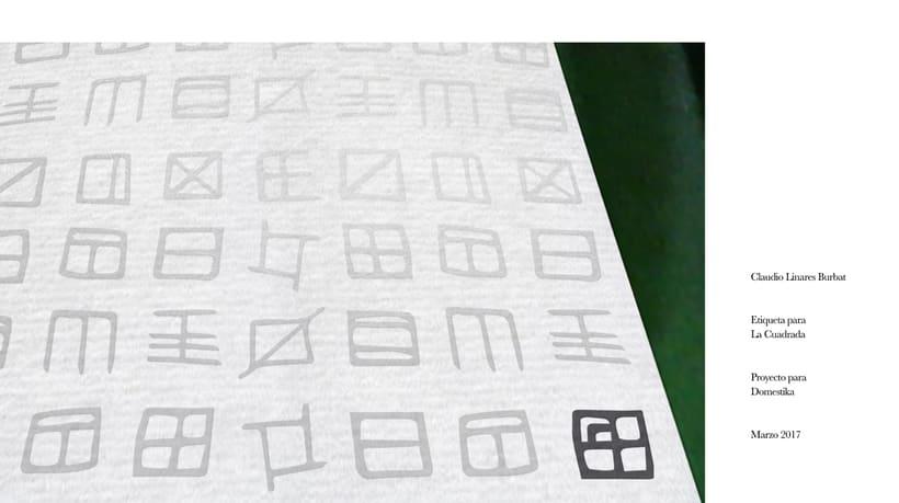 Diseño de una etiqueta de vino: La Cuadrada. 23