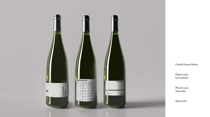 Diseño de una etiqueta de vino: La Cuadrada. 26