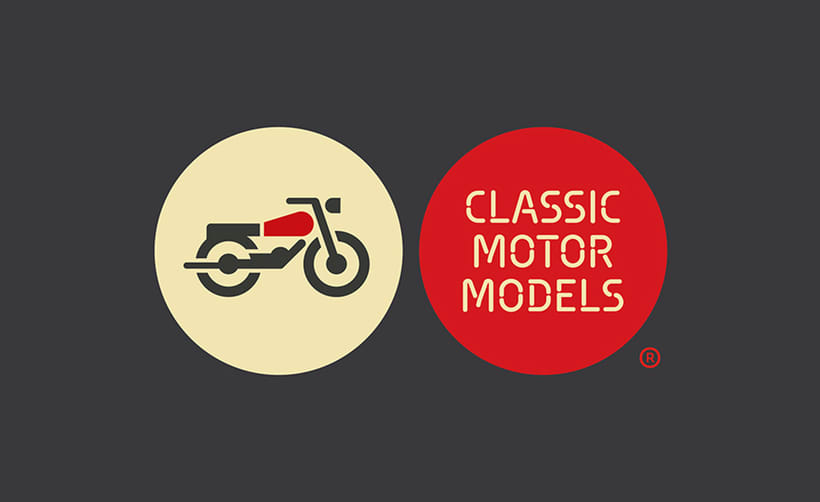 CMM. Branding and website for motorcycles scale models 0