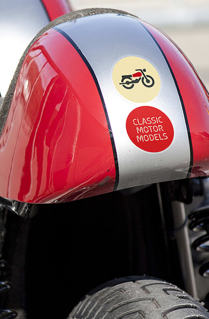 CMM. Branding and website for motorcycles scale models 2