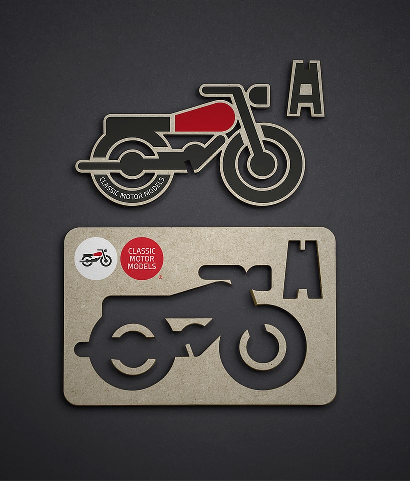 CMM. Branding and website for motorcycles scale models 3