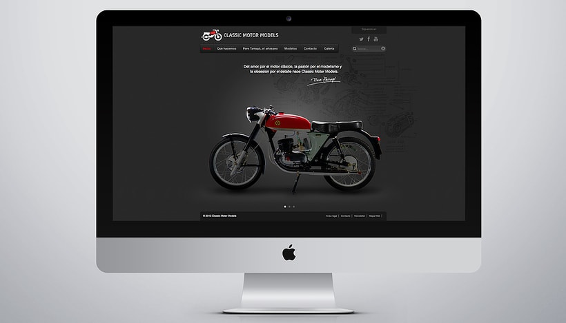 CMM. Branding and website for motorcycles scale models 6