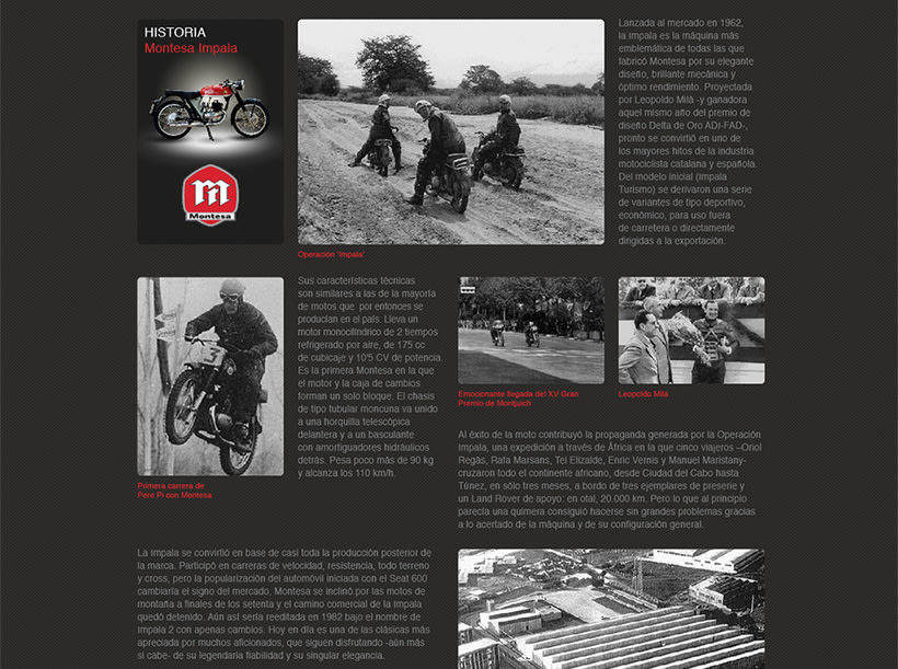 CMM. Branding and website for motorcycles scale models 8