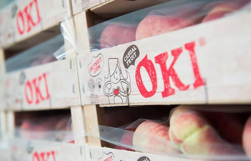 OKI. Brand, advertising, packaging and website for fruit brand 2
