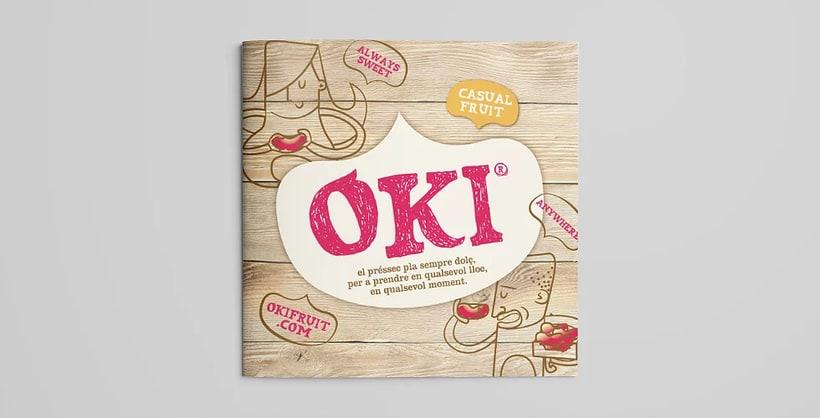 OKI. Brand, advertising, packaging and website for fruit brand 4