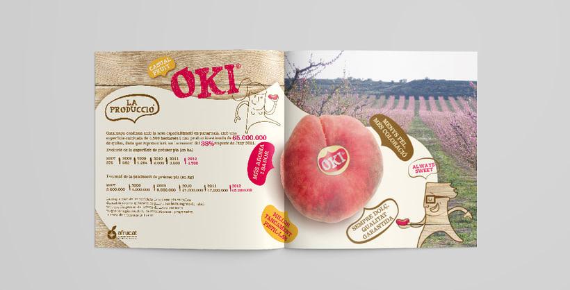 OKI. Brand, advertising, packaging and website for fruit brand 5