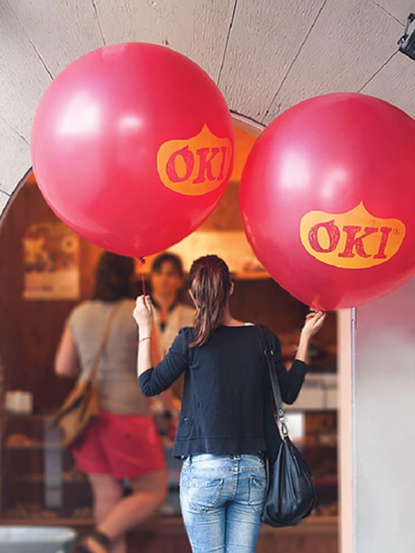 OKI. Brand, advertising, packaging and website for fruit brand 7