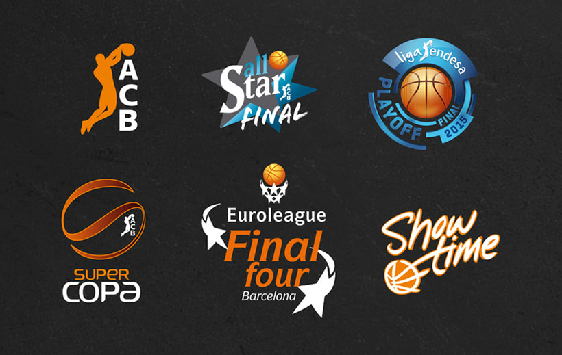 ACB. Branding for basketball events 2