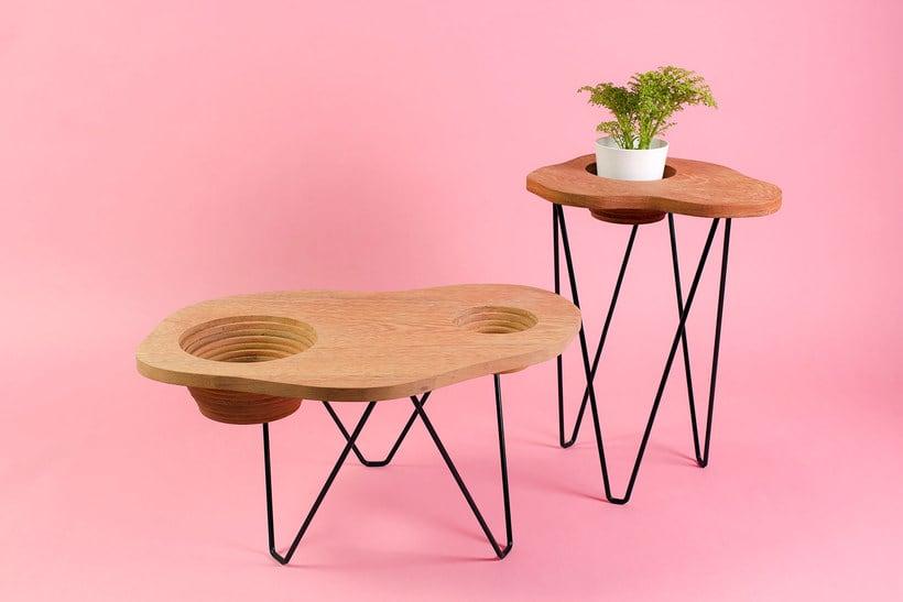 Topography: mobiliario inspirado en la orografía peruana 1