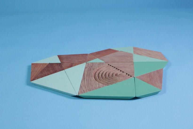 Topography: mobiliario inspirado en la orografía peruana 15