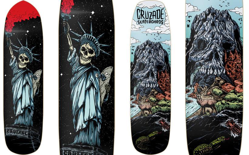 Cruzade Skateboards - 2017 Colection 3