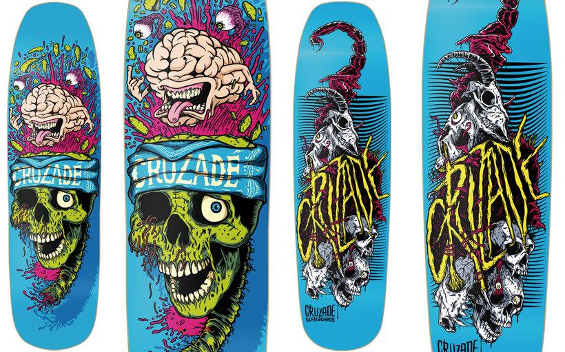 Cruzade Skateboards - 2017 Colection 2