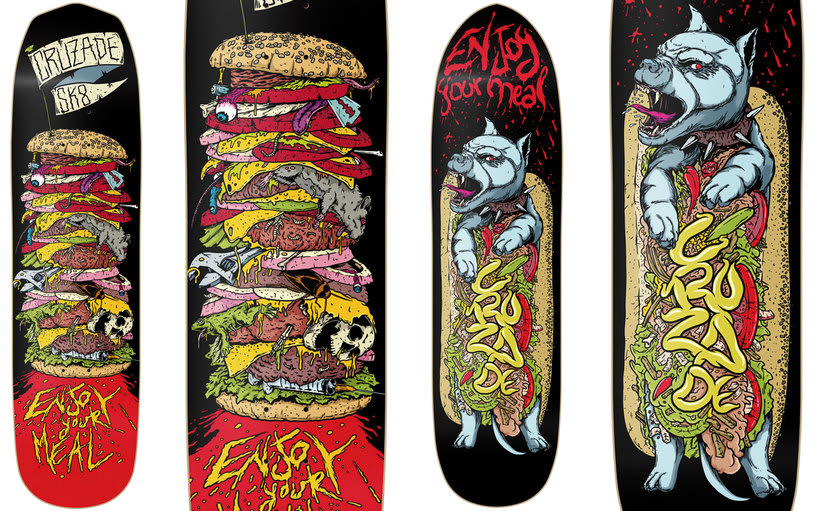 Cruzade Skateboards - 2017 Colection 5