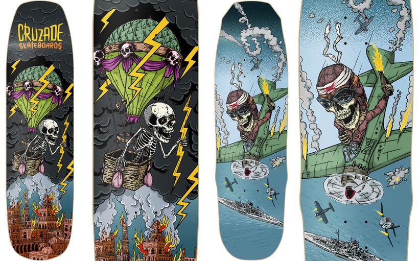 Cruzade Skateboards - 2017 Colection 4