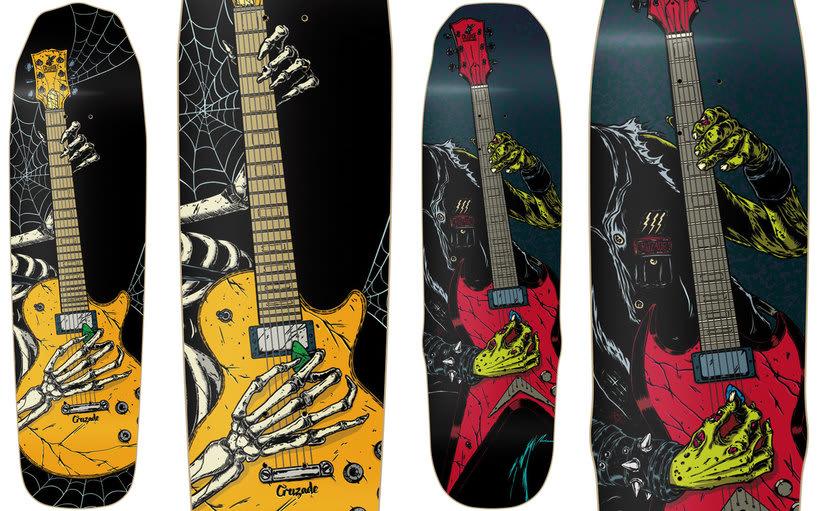 Cruzade Skateboards - 2017 Colection 7