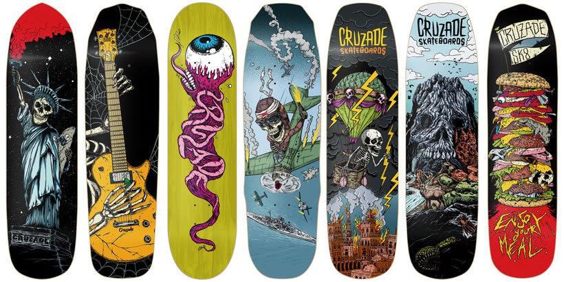 Cruzade Skateboards - 2017 Colection 0