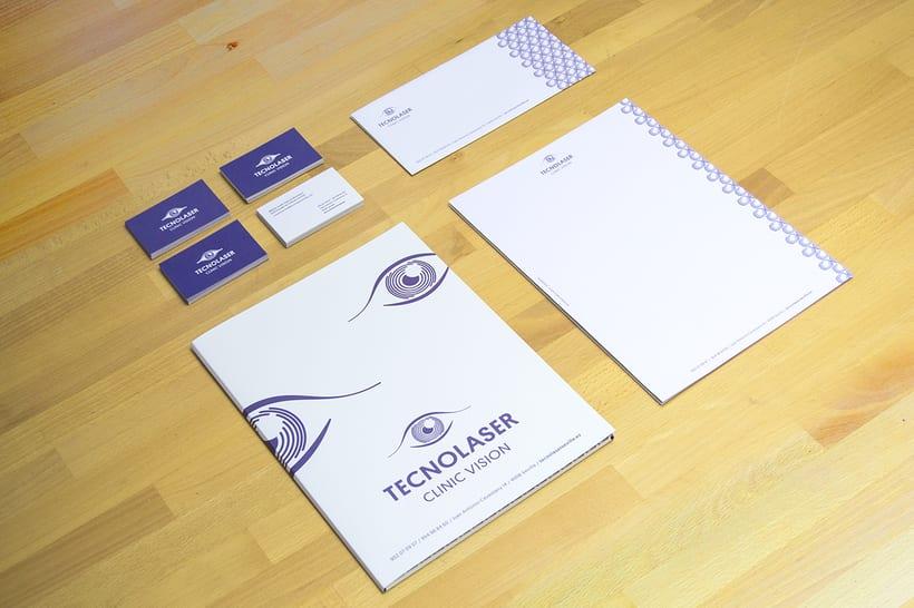 Branding para Tecnolaser Clinic Vision 1