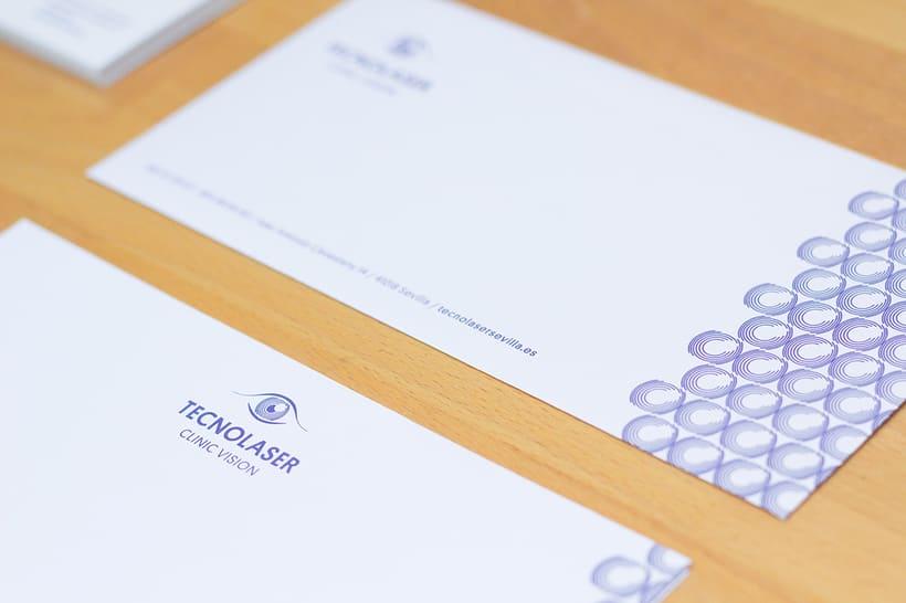 Branding para Tecnolaser Clinic Vision 6