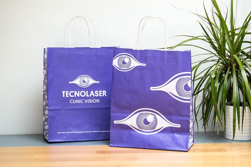 Branding para Tecnolaser Clinic Vision 11