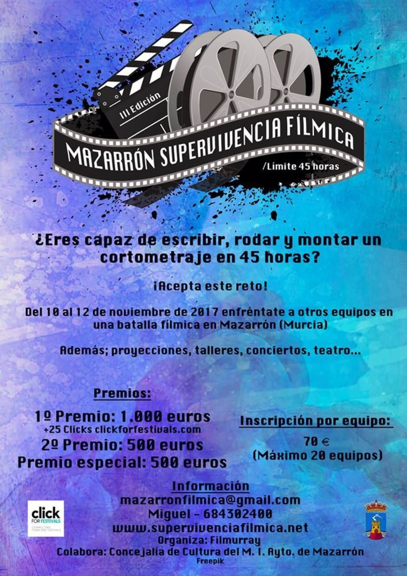 Festival de Supervivencia Fílmica. 2.000€ en premios 1