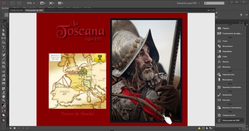 "animaARTion__Epub 3.0 interactivo. Adobe Indesign. ""La Toscana siglo XVII"". Texto original Iván Rozas Gadea. 0"