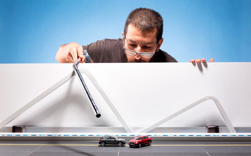 Félix Hernández y el arte en miniatura para Audi Middle East 10