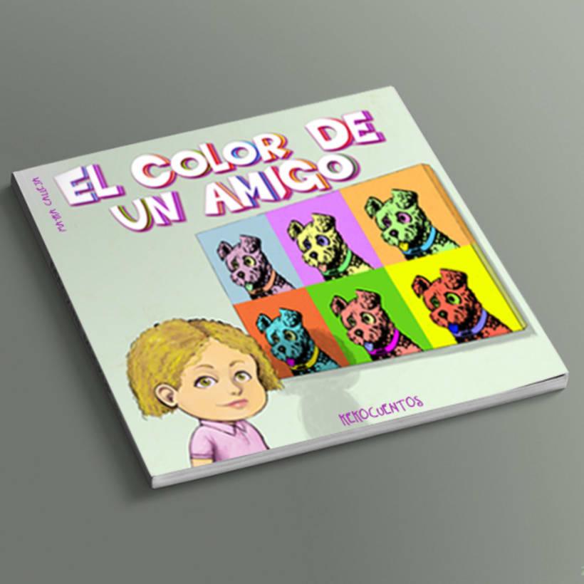 El color de un amigo (Álbum ilustrado) 0