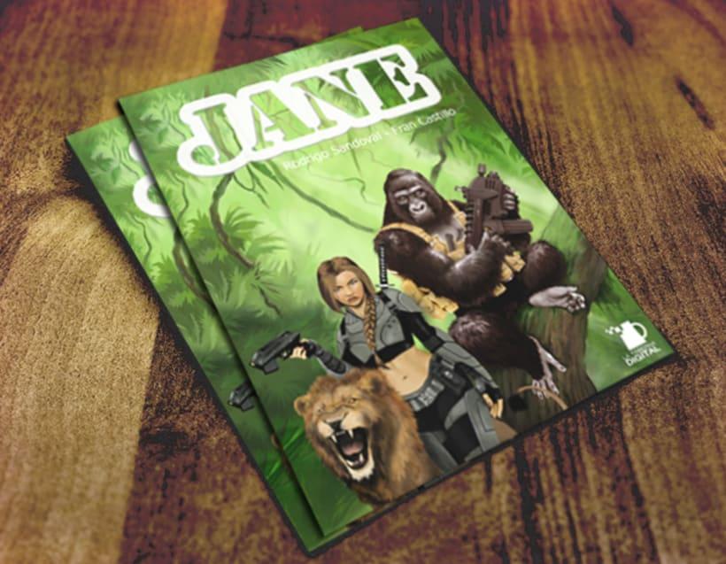 Jane (Portada para comic) 0