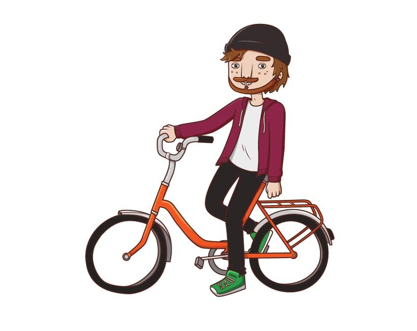 Bike illustration ~ In progress... 0