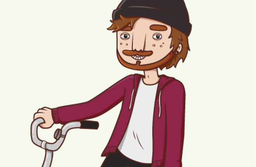Bike illustration ~ In progress... 1