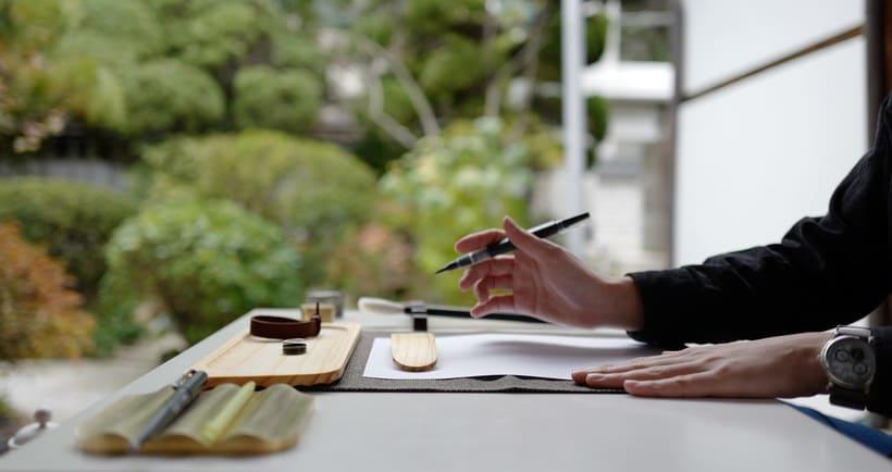 Un kit de caligrafía inspirado en los jardines coreanos 1