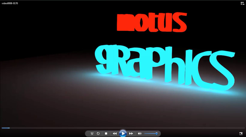 "animaARTion__Video mp4 Intro animación 3D ""Motus Graphics 2"". Blender 0"