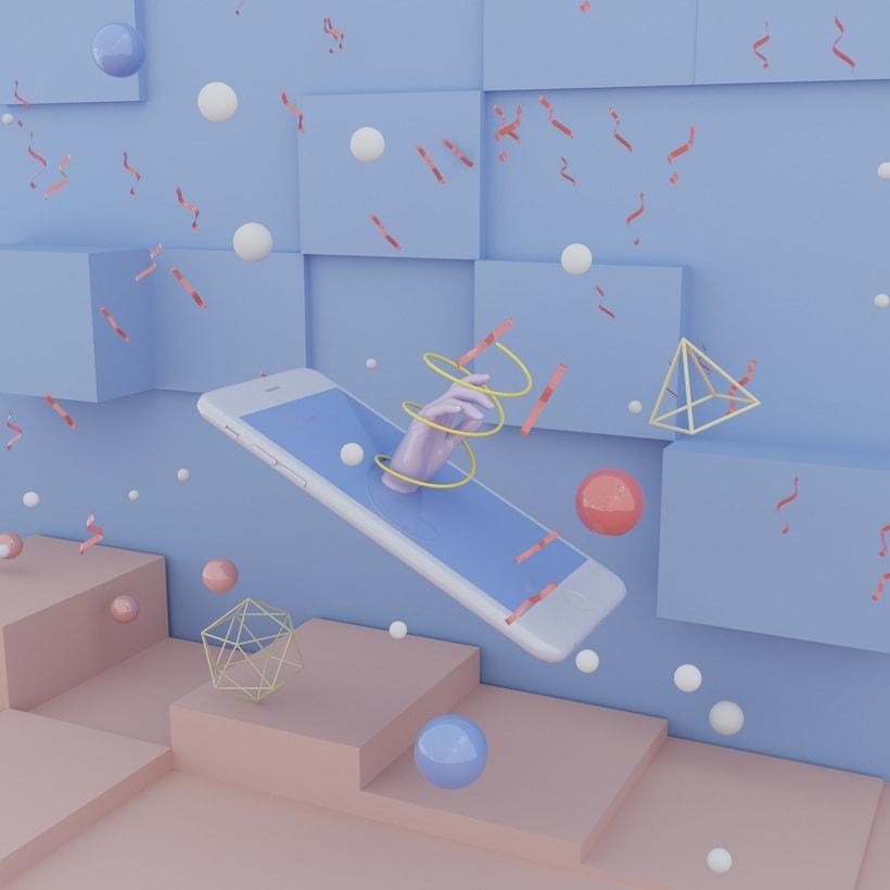 Mi project in Organización y desarrollo de un proyecto 3D con Cinema 4D course -1