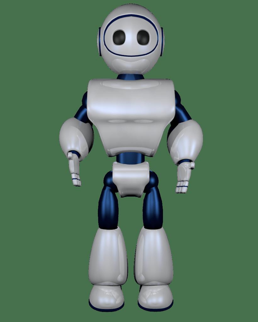 Robot 3D 4