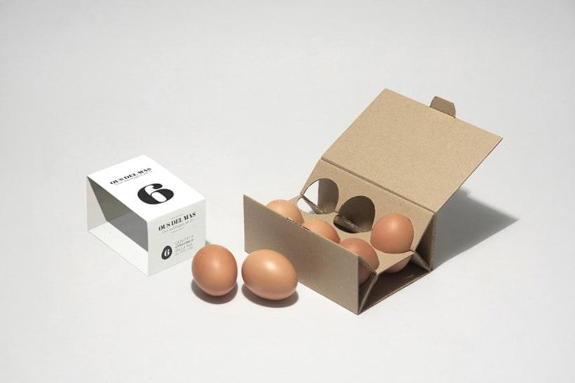 Clara: disseny d'envasat d'ous ecològics 5