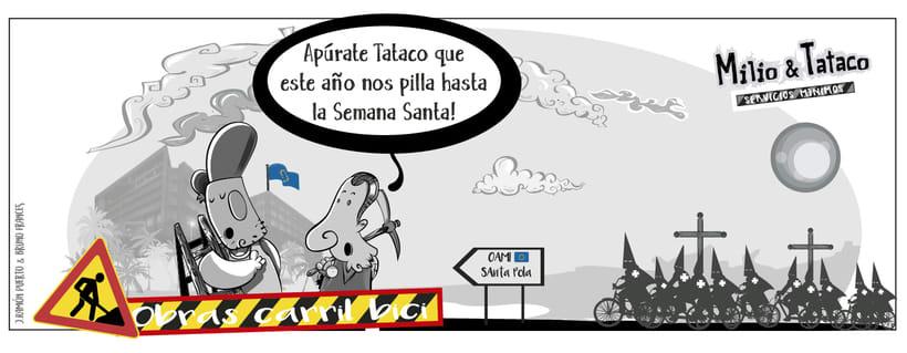 Milio&Tataco ( tiras cómicas periódicos ) 2