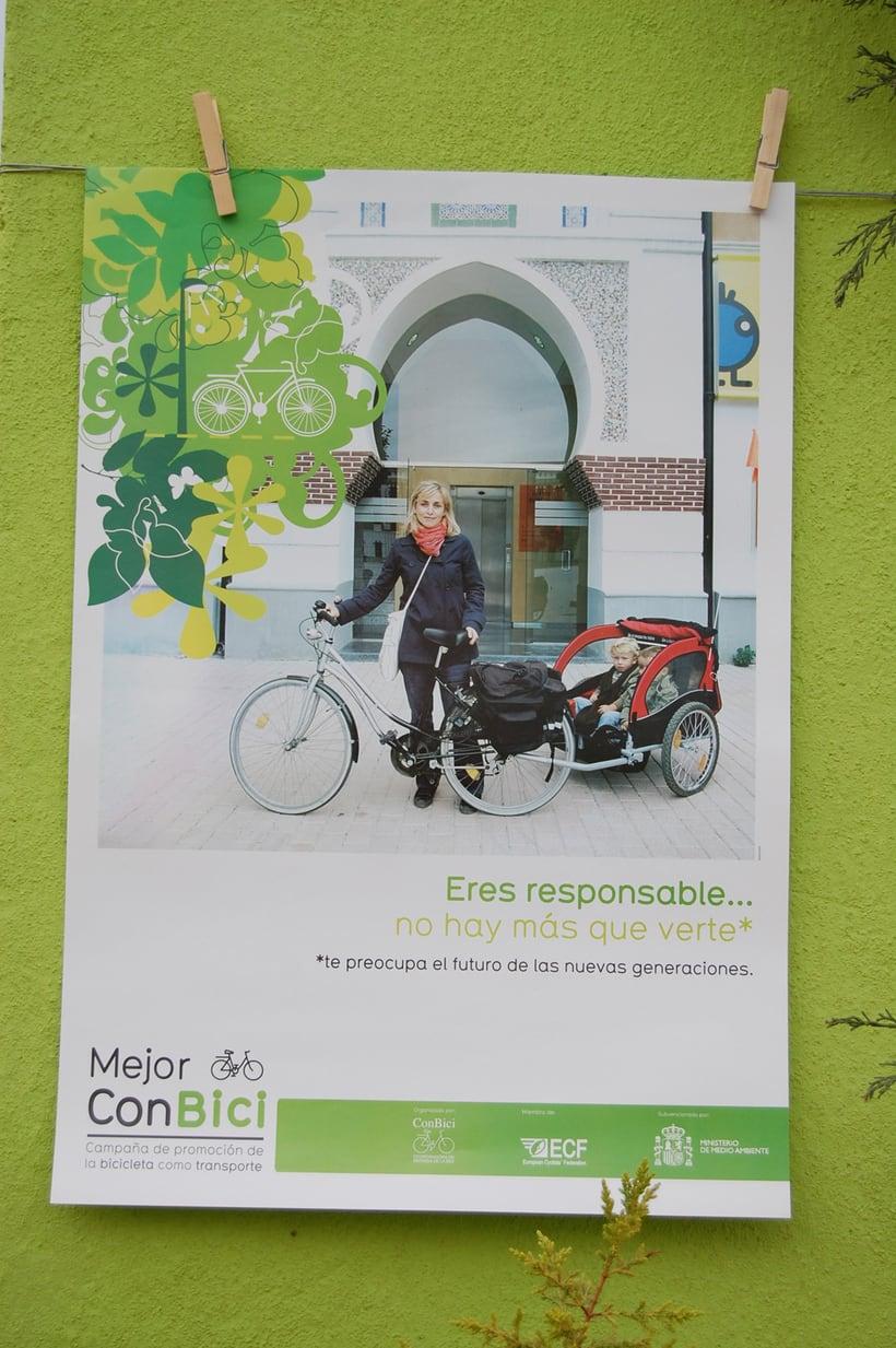 MEJOR CON BICI | Campaña de promoción de la bicicleta como transporte 1