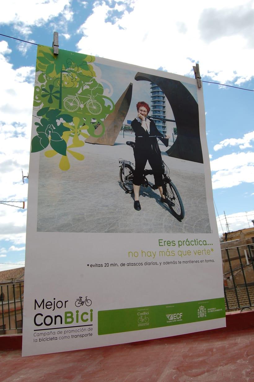 MEJOR CON BICI | Campaña de promoción de la bicicleta como transporte 2