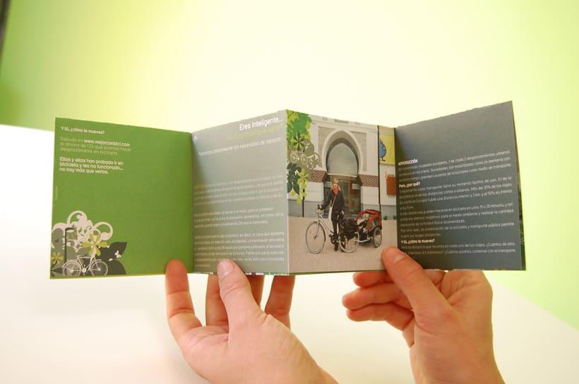 MEJOR CON BICI | Campaña de promoción de la bicicleta como transporte 3