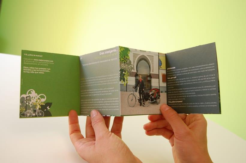 MEJOR CON BICI | Campaña de promoción de la bicicleta como transporte 4